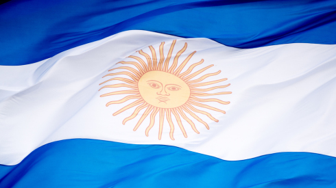 Nationalflagge Argentinien