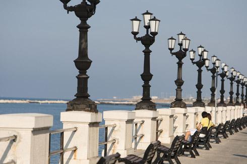 Bari Uferpromenade - Quelle:Fotothek ENIT