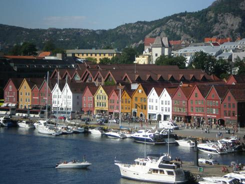 Bergen - das Tor zu den norwegischen Fjorden