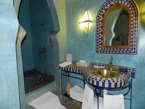 LIebevoll eingerichtetetes Badezimmer