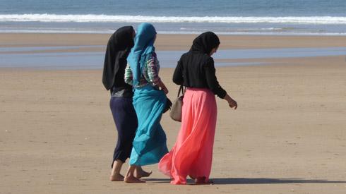 Strandspaziergang in Essaouira