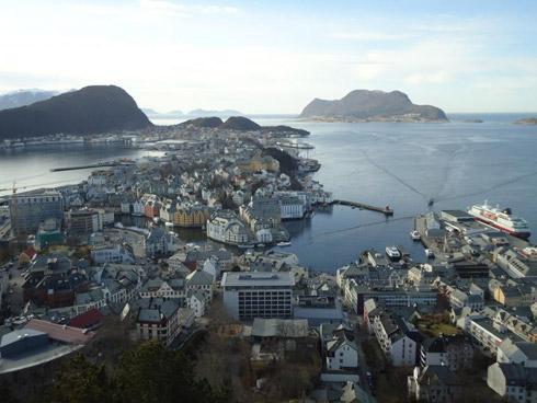 Ålesund – die Jugendstilstadt