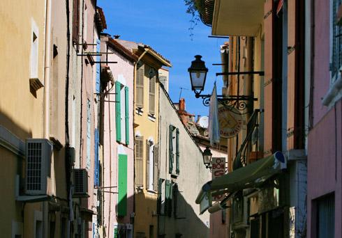 """Die """"Kasbah"""" in der Altstadt San Remos"""
