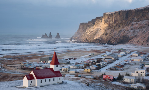 Island VIK Ort