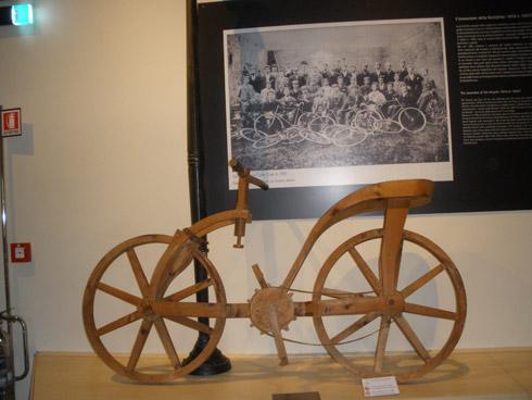 Leonardo da Vincis Fahrrad