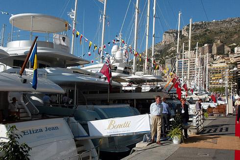 Hafen von Monte Carlo