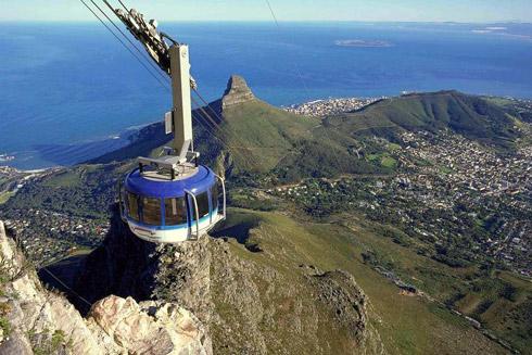 Seilbahn zum Tafelberg Kapstadt
