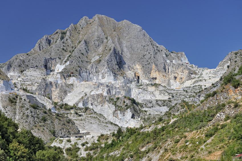 von Portovenere nach Carrara Steinbruch