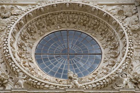 LECCE - Barocke Basilika SantaCroce -  Quelle Fotothek ENIT