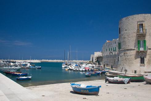 Kleiner Hafen Apulien - Fotothek ENIT
