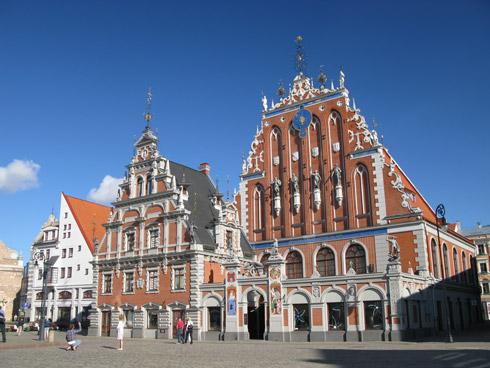 Schwarzhaeupterhaus in Riga