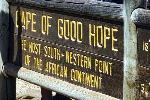 Kap der Guten Hoffnung südwestlicher Punkt Afrikas
