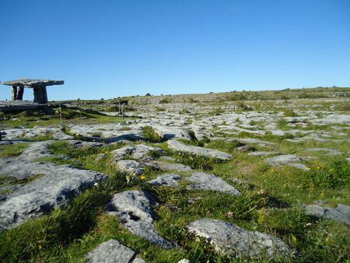 Burren und Poulnabrone Dolmen