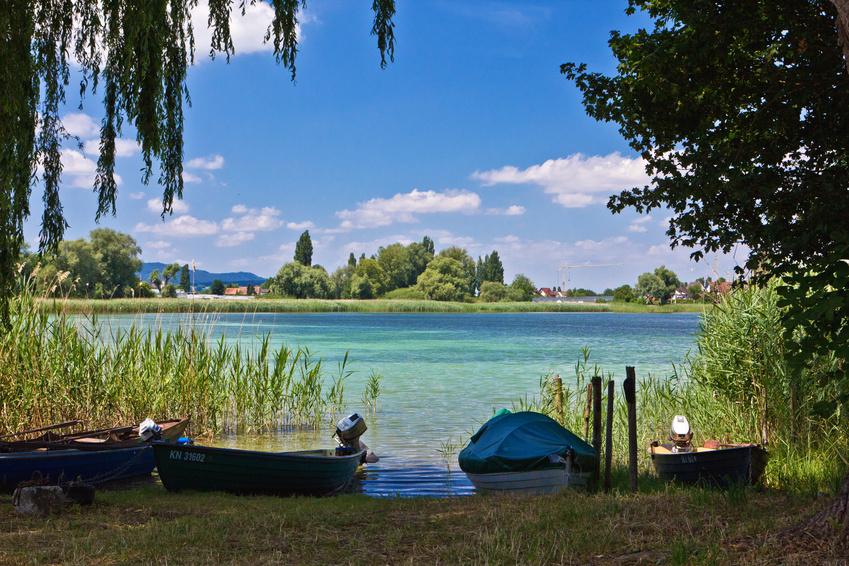 Entspannung am Bodensee / Bregenzer Seebühne