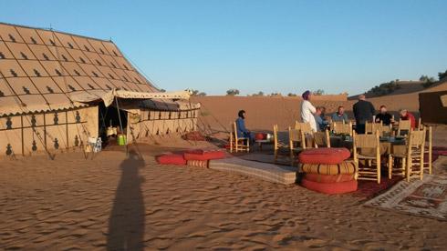 Stille und Sternenhimmel im Wüstencamp