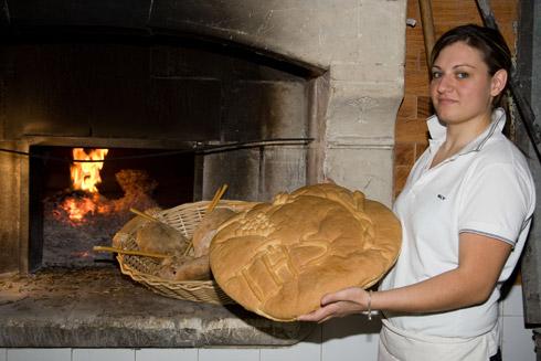 """köstliches Brot """" Focaccia """" aus der Gegend -  Quelle Fotothek ENIT"""