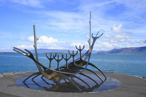 Reykjavik Solfar Sonnenschiff