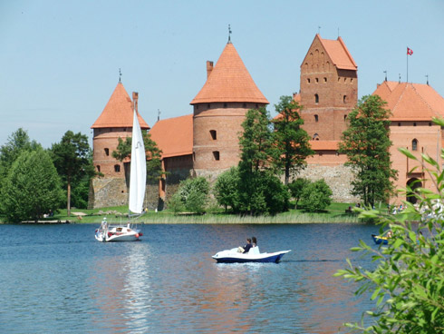Wasserburg in Trakai