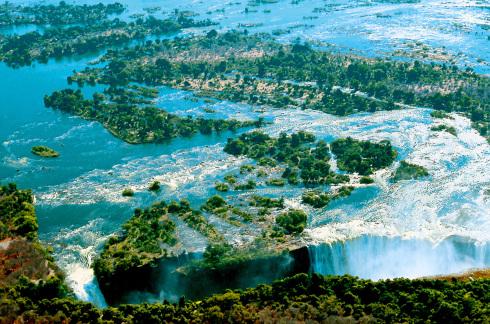 Botswana - Victoriafälle