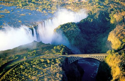 Botswana 2 Chamaeleon Vic Falls