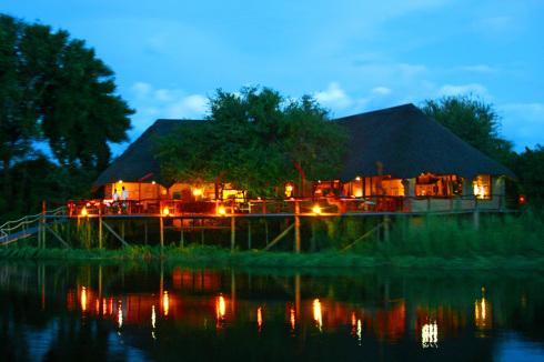Botswana 6 Nunda River Lodge Chamaeleon