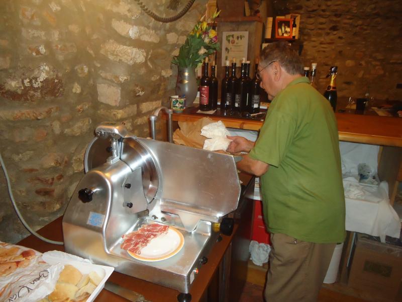 Käse und Olivenöl Toskana