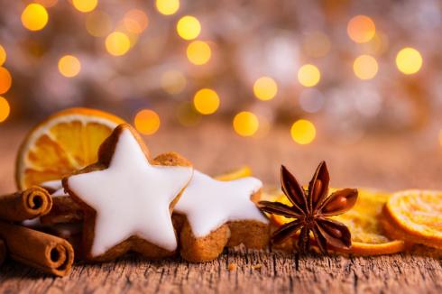 Weihnachten - Duftende Plätzchen und Gewürze