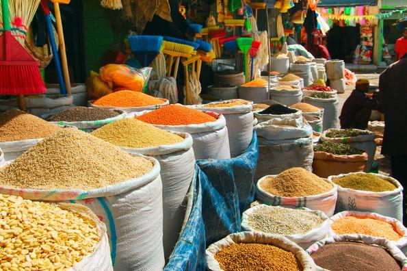 Mercato, Addis Abeba, Ethiopie