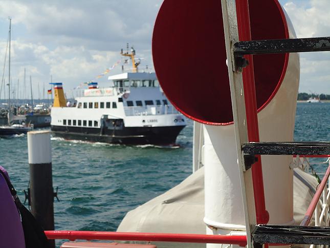 Raddampfer Freya auf dem Nord-Ostsee-Kanal