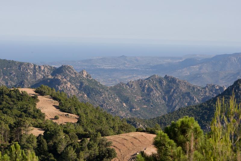 Sardinien Nuoro im Natinalpark del Gennargentu