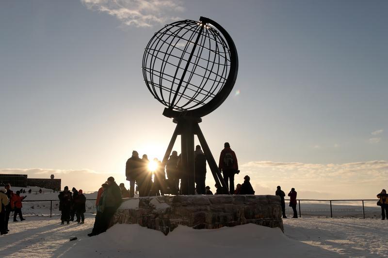 Nordkap Winter