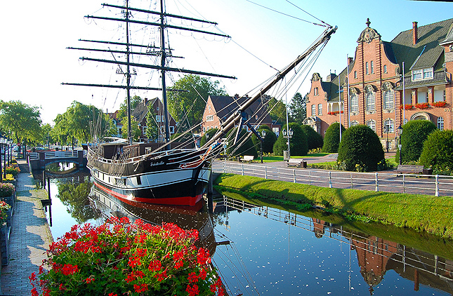 Papenburgs Kanäle