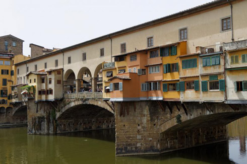 Ponte Vecchio Brücke in Florenz