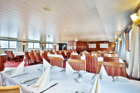Restaurant Flusskreuzfahrtschiff MS Sans Souci