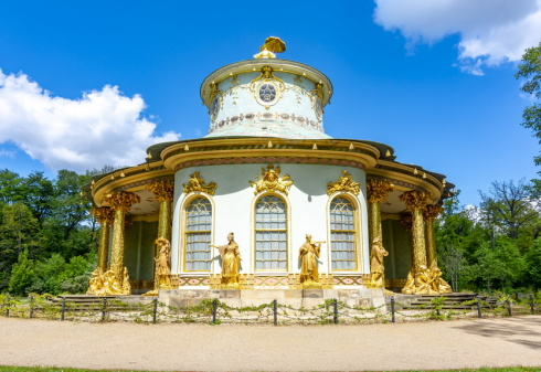 Chinese House in Sanssouci Park, Potsdam, Germany
