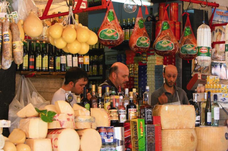 Sardinien Marktstand