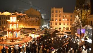 Weihnachtsmarkt Schwerin und die Kutscherscheune