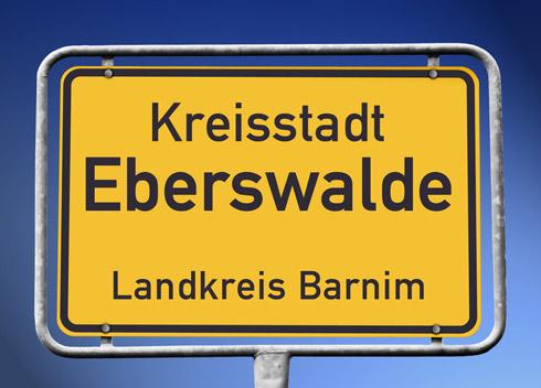 Eberswalde empfängt Sie!