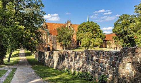 Hübsche Klosteranlage in Chorin!