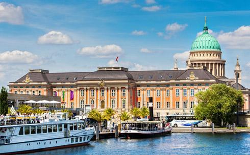Königliches Highlight am Ende Ihrer außergewöhnlichen Flusskreuzfahrt: Potsdam!