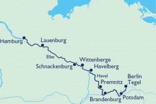 Auf dem Wasserweg von Hamburg durchs Havelland nach Berlin