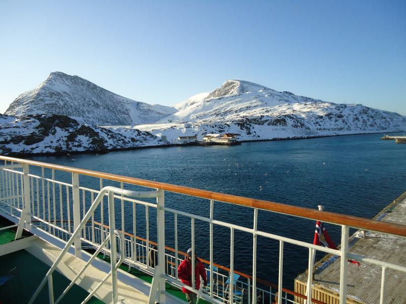 Winter an Bord