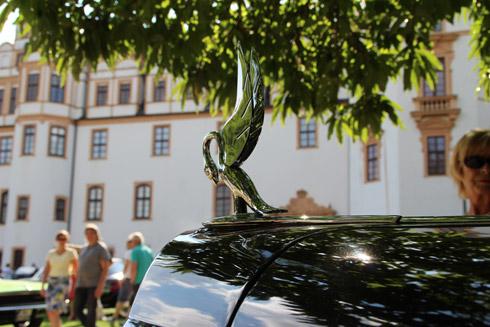 Celle - Oldtimer vor Schloss