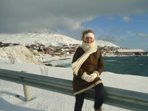 im Schnee Hanses zugeschnitten JS