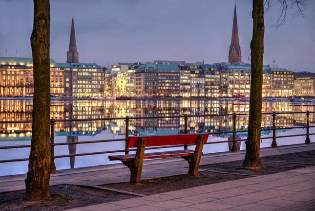 Lichterfahrt Hamburg