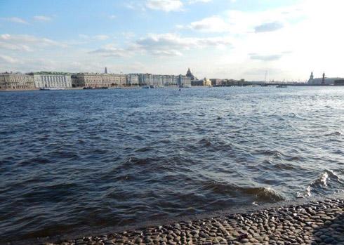 Abschied von St. Petersburg