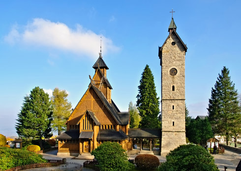 Stabkirche Riesengebirge