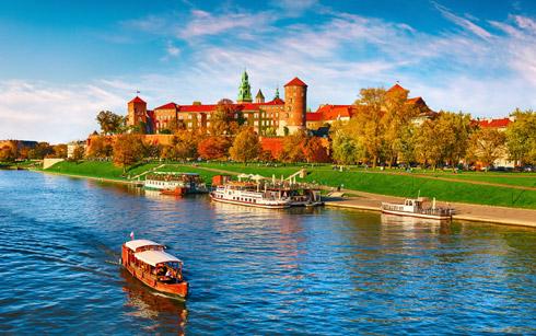Krakau Wawel - königliche Burganlage